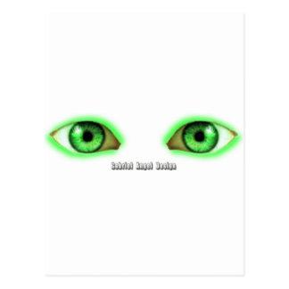 Envy Eyes Postcard