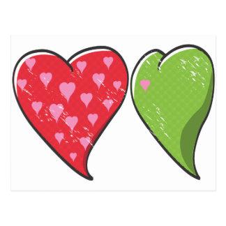 Envy Heart Postcard