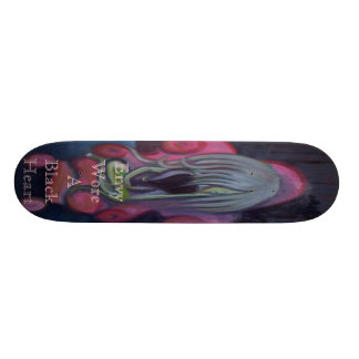 Envy Wore A Black Heart Skateboard