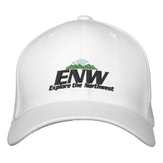 ENW Hat White Embroidered Hat