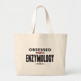 Enzimología obsesionada bolsa tela grande