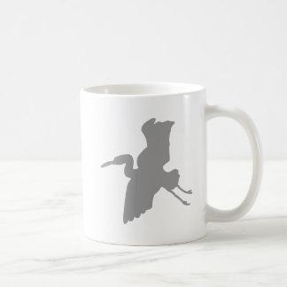 Enzo Egret Coffee Mug