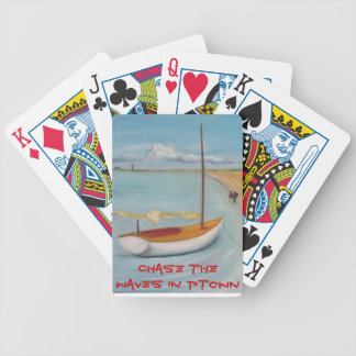 Enzo the Wave Chasing Poodle, Provincetown Product Bicycle Playing Cards