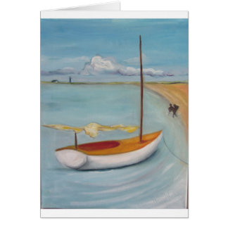 Enzo the Wave Chasing Poodle, Provincetown Product Card