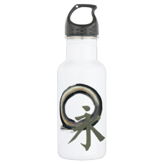 Enzo with Kanji  meaning Forever Water Bottle