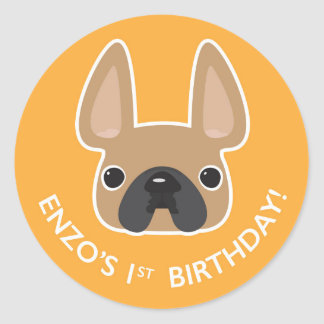 Enzo's Birthday Sticker