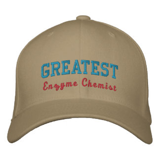 Enzyme Chemist Embroidered Baseball Hat