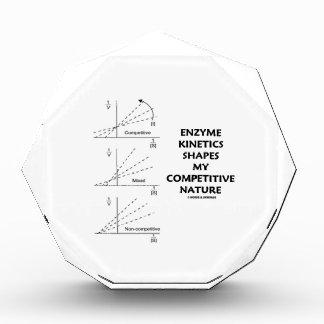 Enzyme Kinetics Shapes My Competitive Nature Acrylic Award