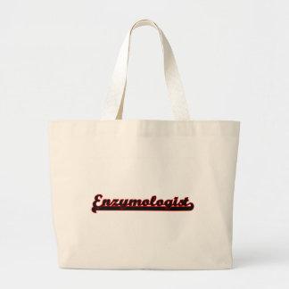 Enzymologist Classic Job Design Jumbo Tote Bag