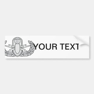 EOD badge Bumper Sticker