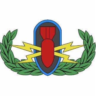 EOD Basic Badge Photo Sculpture