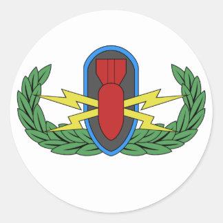 EOD Basic Badge Stickers