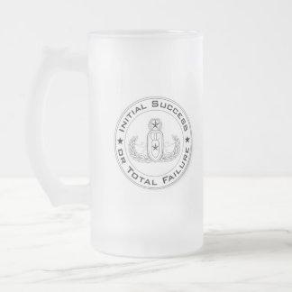Eod beer mug initial success or total failure