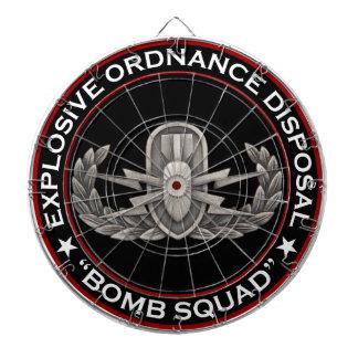 "EOD ""Bomb Squad"" Dart Board"