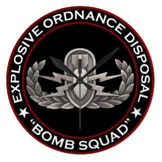 "EOD ""Bomb Squad"" Wallclock"