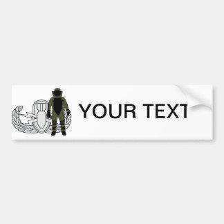 EOD Bomb Suit Bumper Sticker