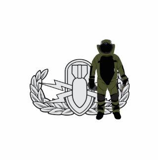 EOD Bomb Suit Cut Out