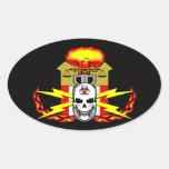 EOD, Bomb Technician Decal Oval Sticker