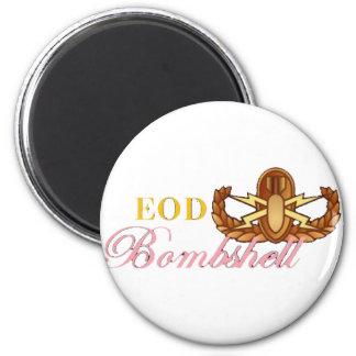 EOD Bombshell Refrigerator Magnets