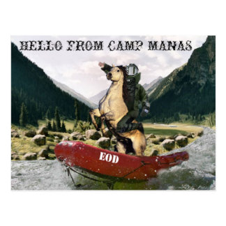 EOD Camp Manas Postcard