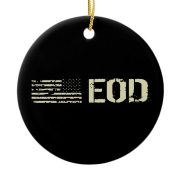 EOD CERAMIC ORNAMENT