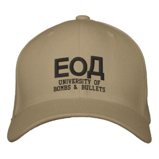 EOD Cyrillic Embroidered Baseball Cap