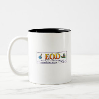 EOD Fear Two-Tone Coffee Mug
