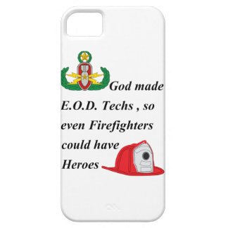 EOD - Firefighter Heroes iPhone 5 Covers