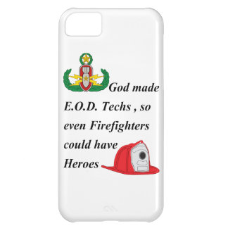 EOD - Firefighter Heroes iPhone 5C Covers