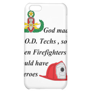 EOD - Firefighter Heroes Cover For iPhone 5C