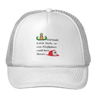 EOD - Firefighter Heroes Trucker Hat