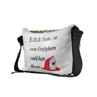 EOD - Héroes del bombero Bolsa De Mensajeria