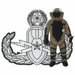 EOD logo Bomb Suit Master Embroidered Hooded Sweatshirts