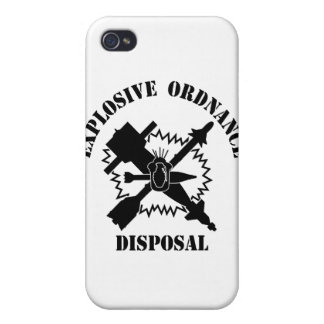 EOD logo Cover For iPhone 4