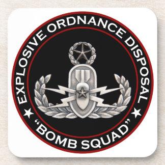 "EOD Master ""Bomb Squad"" Beverage Coaster"