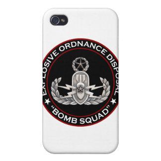 "EOD Master ""Bomb Squad"" iPhone 4/4S Cover"