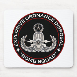 "EOD Master ""Bomb Squad"" Mouse Pad"
