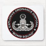"EOD Master ""Bomb Squad"" Mousepads"