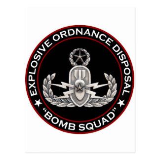 "EOD Master ""Bomb Squad"" Postcard"