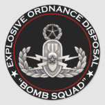 "EOD Master ""Bomb Squad"" Sticker"