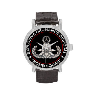 EOD Master Bomb Squad Wristwatches