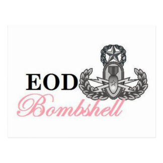 eod master bombshell postcard