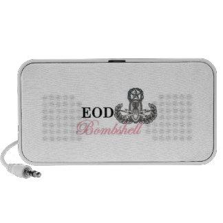 EOD Master Bombshell speaker