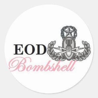 eod master bombshell sticker