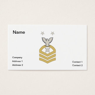 EOD Master Chief Business Card