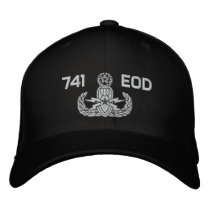 EOD Master Embroidered Baseball Cap