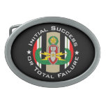 EOD Master in color OIF ISoTF Oval Belt Buckle