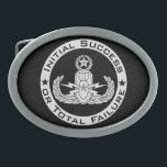 "EOD Master ISoTF Belt Buckle<br><div class=""desc"">EOD Master badge with Initial Success or Total Failure.  Background color can be changed (depending on product type) and image can be resized/moved by using customize button.</div>"
