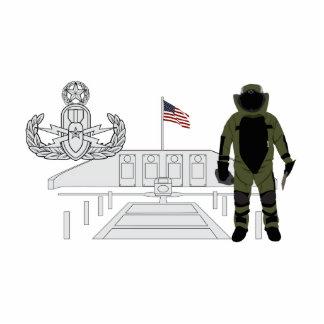 EOD Master Memorial Bomb Suituit Cutout