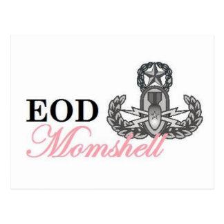 eod master momshell postcards